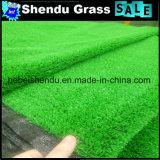 Grama sintética barata material dos PP 10mm para o jardim
