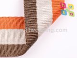 Tricolor Colorful Webbing Nylon with Nylon Dyed Yarn