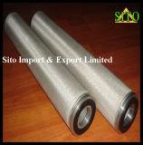 스테인리스 316 길쌈 메시 물 또는 기름 또는 가스 스트레이너 필터