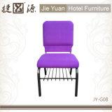快適な連結の紫色教会椅子(JY-G08)