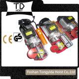 携帯用PAのタイプ緊急制御ボタン電気ワイヤーロープの小型起重機