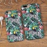 Erstklassige mehrfarbige Tierdrucken-Haut-schützender harter Kasten für Mobiltelefon