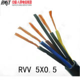 Câble flexible de faisceau de l'isolation de cuivre H05VV-F de PVC