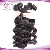 China-preiswerteste Jungfrau-Haar-lose Welle peruanisches Remy wellenförmiges Haar