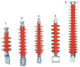 Isolador de silicone de alta tensão para distribuição