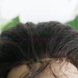 8A等級の完全なレースの人間の毛髪のかつらのバージンのインドの毛の黒人女性のためのねじれたまっすぐなレースの前部かつらの人間の毛髪の完全なレースのかつら
