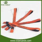 Поставщик Wristbands промотирования сплетенный подарком устранимый покрашенный