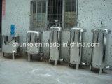 Filtro de bolso ionizante industrial de agua del acero inoxidable alcalino