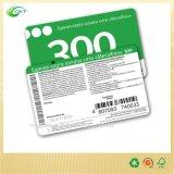 Cartão plástico do PVC, impressão do cartão de RFID com código de barras (CKT-CB-763)