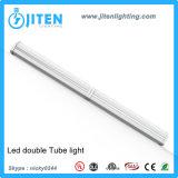 천장 정착물 UL ETL Dlc에 선형 빛 T5 관 LED 가벼운 두 배 줄 2.4m 60W