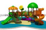 Im Freienspielplatz-Plättchen für Kinder