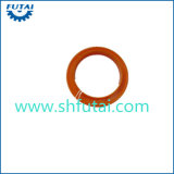 Juntas redondas de cobre para la hiladora