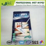 Impreso Disposablecleaning no tejidos para el hogar piso Wet Wipes