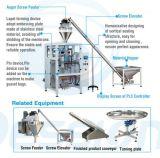 Вакуум частицы оборудования герметизируя вертикальную машину упаковки