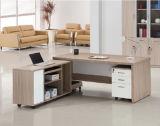 Самомоднейший стол компьютера офиса MDF движимости с вспомогательным оборудованием