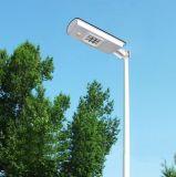 luz de calle accionada solar cristalina del área 15W
