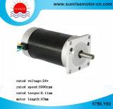 motor redondo del motor eléctrico del motor de 57bly02 BLDC