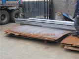Rodillo utilitario de acero acanalado del túnel que forma la máquina
