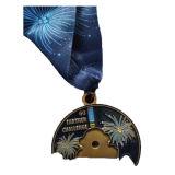 Médaille du prix personnalisé de haute qualité avec des rubans