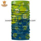 Logo promocional Pie de imprenta al por mayor de la bufanda del pañuelo