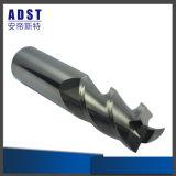 Buena herramienta de corte de aluminio del molino de extremo del carburo de tungsteno de la dureza del precio