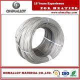 Niveau élevé du fil ASTM du fournisseur 0cr21al6nb de la résistivité Fecral21/6
