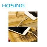 El cable de datos de carga rápido más caliente del USB del precio al por mayor 2 en 1 cable de nylon del cargador de la sinc. para I-Phone6/Samsung/7 más