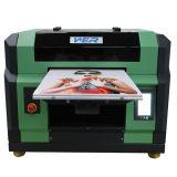 Pequeña impresora ULTRAVIOLETA de Wer E2000UV LED de la talla A3 para la cubierta móvil, TPU y la impresión de cuero