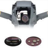 Filtros G-UV ND4 8 da lente dos acessórios de Pgytech Dji Mavic PRO 16 peças ajustadas COMPLETAS da suspensão Cardan RC Quadcopter do zangão do filtro do filtro 5PCS HD da lente