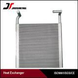 Réfrigérant à huile en aluminium brasé par haute fiabilité d'excavatrice de plaque de barre
