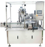 Poudre automatique de machine de remplissage et machine à étiquettes de machines de cachetage