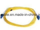 Ce/UL Verbindingsdraad van de Optische Vezel van het Certificaat LC aan LC Single-Mode