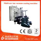 Machine van de VacuümDeklaag PVD van het Titanium van het Blad van de Lift van het Roestvrij staal van Cczk de Gouden Grote, Systeem van de Deklaag van het Tin het Gouden