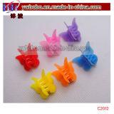 De plastic Reeks van de Juwelen van het Meisje van de Klem van de Klemmen van de Klauw van het Haar van de Vlinder Mini (C2012)