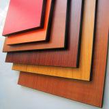 12 milímetros HPL impermeabilizan precio laminado del panel del compacto