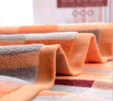 Хлопка мягкое нашивки стороны полотенца полотенце 100% ванны