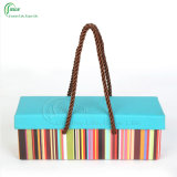 Boîtes-cadeau estampées colorées de vente chaude belles empaquetant les cadres (KG-PX063)