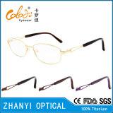 Beta blocco per grafici di titanio di vetro ottici di Eyewear del monocolo di ultimo disegno per la donna (9305)