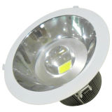 13W Low Flat Flat Surface LED Recess Downlight, design élégant, diffuseur PMMA offre une distribution uniforme de lumière, 950lm IP54 (gradable)