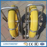 conduit flexible Rodder de fibre de verre de 6mm*100m/conduit Rod de cobra