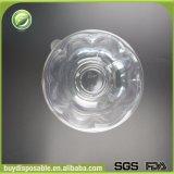 Envase plástico disponible redondo claro de la ensalada de fruta