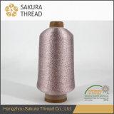 Metallisches Strickgarn-Silber-Gewinde