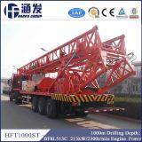 Hft1000st le type plate-forme de forage de camion le plus économique et le plus pratique de puits d'eau