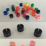 Bornes/boucles/cubes Sizers de taille de bride de fixation colorés par plastique pour des boutiques