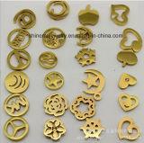 Стержень уха золота плакировкой нержавеющей стали ювелирных изделий способа Shineme