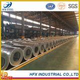 O material de construção galvanizou a bobina de aço (DC51D+Z, DC51D+ZF, St01Z, St02Z, St03Z)