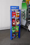 Aménagement moyen de présentoir de casse-croûte de crémaillère d'étalage de détail de mémoire de supermarché