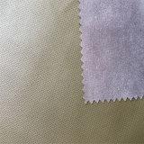 Viscose PU кожаный Hw-925 одежды затыловки
