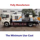 Bomba de entrega concreta montada caminhão da manufatura da polia