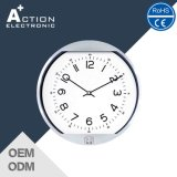 10 pouces Analog Aluminium Home Decoration Wall Clock